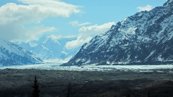 Matanuska glacier from the road