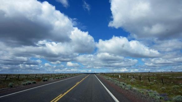 Route 97 near Moro, Oregon