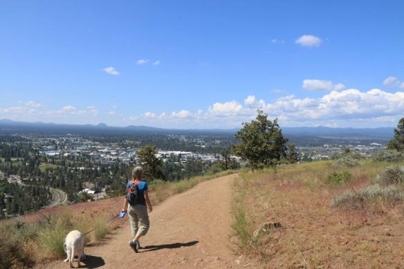Our mini-hike.