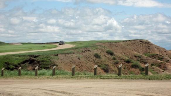 Sage Creek Rim road
