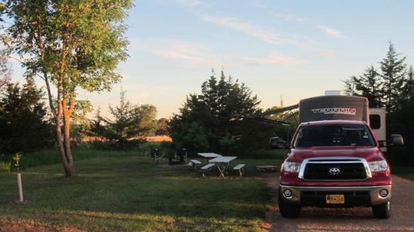 Peaceful Lake Vermillion near Sioux Falls, SD