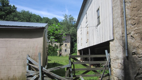 View of the mill at the back of the property