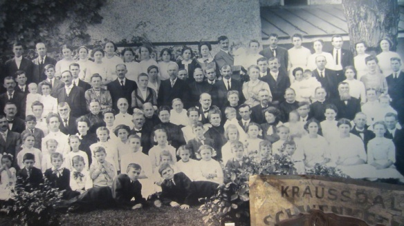 Kriebel family reunion 1912
