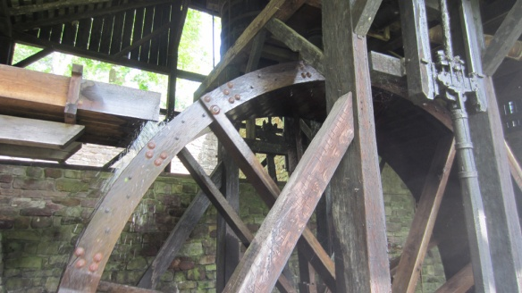 Hopewell furnace waterwheel