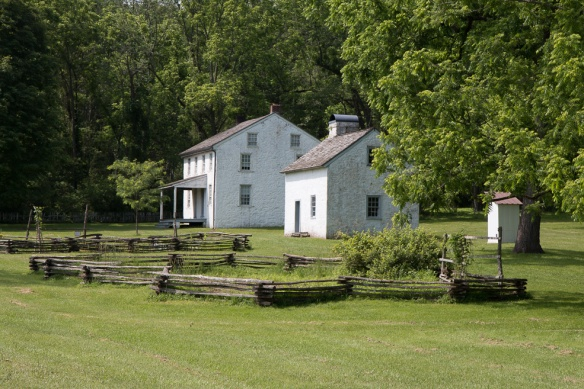 Hopewell furnace workers' houses