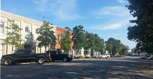 Edenton's downtown