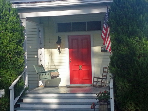The Tillie Bond Cottage, our dog friendly lodging.