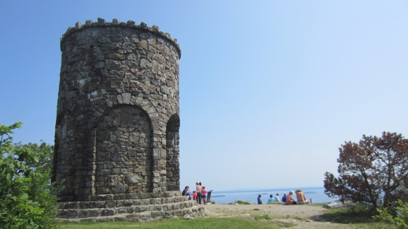 WWI memorial tower on Mount Battie