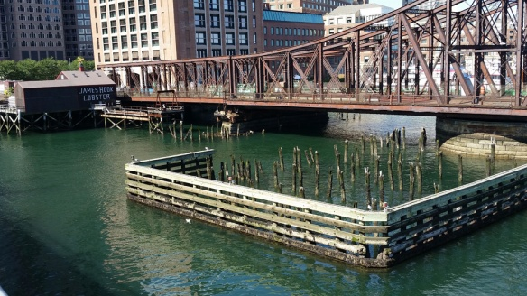 Rotten dock piers