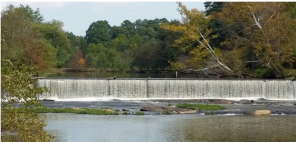 Old mill dam