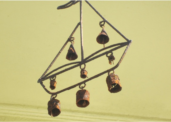 Rusty wind bells