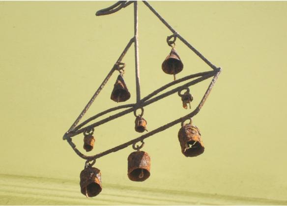 Rusty wind bells