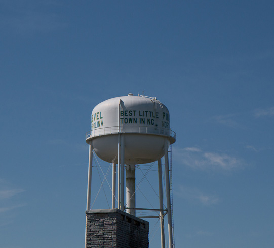 Pine Level water tower
