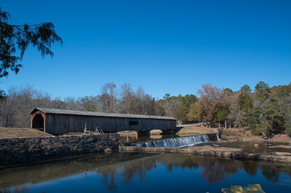 Watkins Mill covered bridge