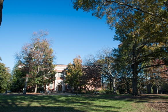 North campus quadrangle