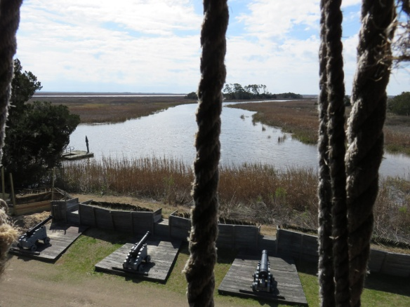 View from the blockhouse