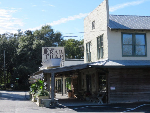 The Crab Trap, neighborhood restaurant for 40 years