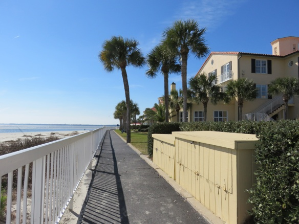 King and Prince Hotel--good beach access here even at high tide