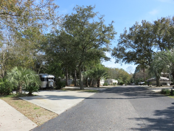 A park street.