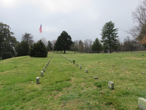 Fredericksburg cemetery--it holds a small portion of those who died there