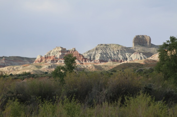 Lovely Dubois, Wyoming campground view