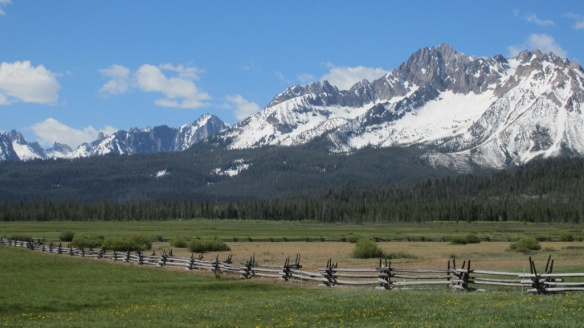 Idaho's amazing Sawtooth Mountains