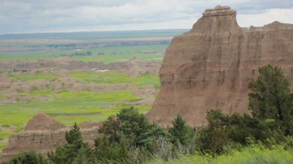 One of my favorite places on the trip--the Badlands