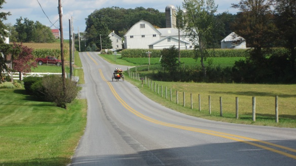 Neighborhood at Pennsylvania campground in Amish country