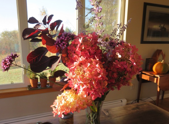 Our October garden bouquet